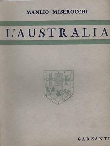 L'Australia: Miserocchi, Manlio