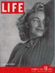 Life Magazine 21 October 1940 Model Mardee: Life Magazine 21