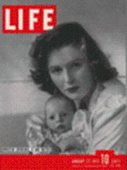 Life Magazine 27 January 1941 Winston Churchill II & mother 1/27/41