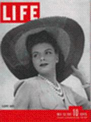 Life Magazine 19 May 1941 Vera Gilmer: Life Magazine 19