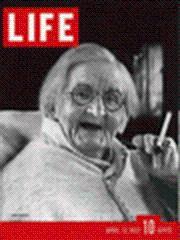 Life Magazine 12 April 1937 Centenarian 4/12/37: Life Magazine 12