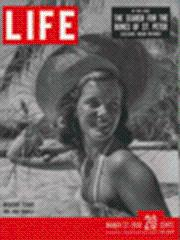 Life Magazine 27 March 1950 Mrs. Anne Bromley 3/27/50