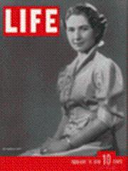 Life Magazine 14 February 1938 Queen Farida of Egypt 2/14/38: Life Magazine 14 February ...