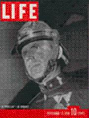 Life Magazine 12 September 1938 Prussian soldier: Life Magazine 12