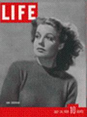 Life Magazine 24 July 1939 Ann Sheridan: Life Magazine 24