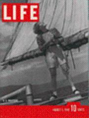 Life Magazine 5 August 1940 Sailor girl: Life Magazine 5