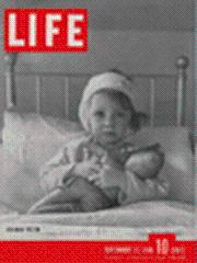 Life Magazine 23 September 1940 Air Raid Victim 9/23/40