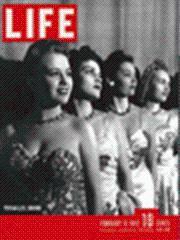 Life Magazine 9 February 1942 Versailles Chorus Girls 2/9/42: Life Magazine 9 February ...