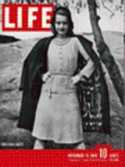 Life Magazine 15 November 1943 Model Carmel: Life Magazine 15
