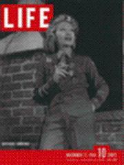 Life Magazine 27 November 1944 Gertrude Lawrence: Life Magazine 27