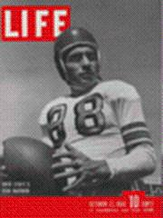 Life Magazine 22 October 1945 Paul Sarringhaus-Ohio State football 10/22/45