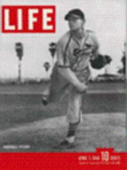 Life Magazine 1 April 1946 Charles Barrett, Pitcher 4/1/46
