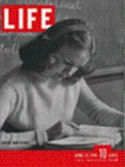 Life Magazine 22 April 1946 Denver High: Life Magazine 22