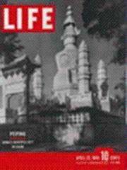 Life Magazine 29 April 1946 Peiping China: Life Magazine 29