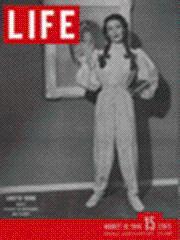 Life Magazine 12 August 1946 Loretta Young: Life Magazine 12