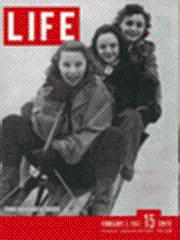 Life Magazine 3 February 1947 Young Broadway: Life Magazine 3