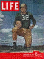 Life Magazine 29 September 1947 Johnny Lujack: Life Magazine 29