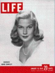 Life Magazine 10 January 1949 Debutante Joanne: Life Magazine 10