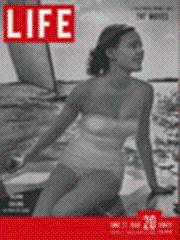 Life Magazine 27 June 1949 Island Sailing: Life Magazine 27