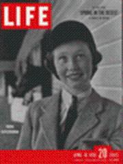 Life Magazine 10 April 1950 Horsewoman Aileen: Life Magazine 10