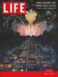 Life Magazine 5 July 1954 Fireworks Rowland: Life Magazine 5