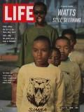 Life Magazine 15 July 1966 Watts's Young: Life Magazine 15