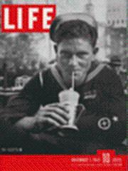 Life Magazine 5 November 1945 Navy Sailor: Life Magazine 5