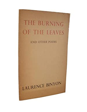 The Burning Of The Leaves And Other Poems