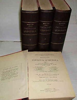 TRATADO DE PATOLOGÍA QUIRÚRGICA. I. Patología Quirúrgica: JEANBRAU, E -