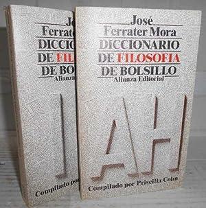 DICCIONARIO DE FILOSOFÍA DE BOLSILLO. 1ª edición.: FERRATER MORA, José