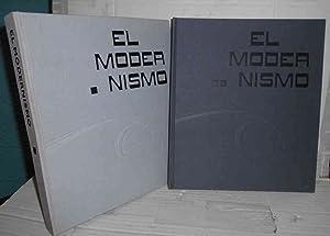 EL MODERNISMO. Catálogo para la Exposición del: GARCÍA ESPUCHE, Albert