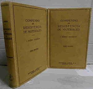 COMPENDIO DE RESISTENCIA DE MATERIALES. Su aplicación: RUBIO SANJUÁN, I