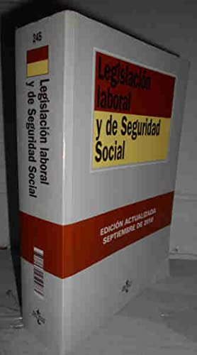 LEGISLACIÓN LABORAL Y DE SEGURIDAD SOCIAL. 12ª: RODRÍGUEZ-PIÑERO, Miguel -