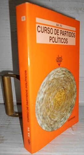 CURSO DE PARTIDOS POLÍTICOS. 1ª edición e: MELLA MÁRQUEZ, Manuel