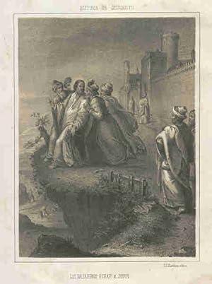 LOS NAZARENOS ECHAN A JESÚS. HISTORIA DE: MORENO CEBADA, Emilio