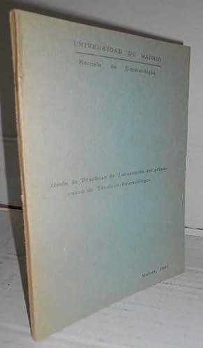 GUIÓN DE PRÁCTICAS DE LABORATORIO DEL PRIMER: JEREZ, Rafael