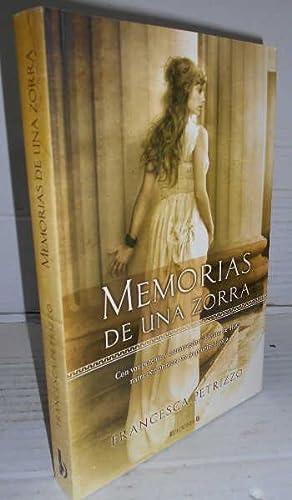 MEMORIAS DE UNA ZORRA. 1ª edición. Traducción: PETRIZZO, Francesca