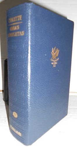 OBRAS COMPLETAS de Colette. 3ª edición. Traducción: COLETTE, Sidonie-Gabrielle