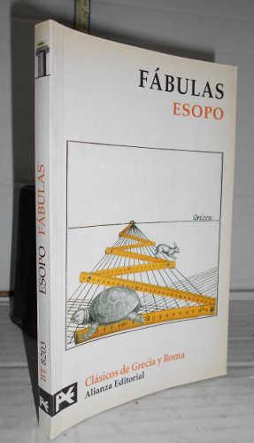FÁBULAS de Esopo. 1ª edición con introducción,: ESOPO