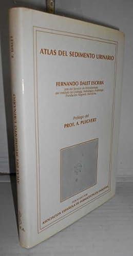 ATLAS DE SEDIMENTO URINARIO. 1ª edición. Prólogo del Profesor A. Puigvert: DALET...