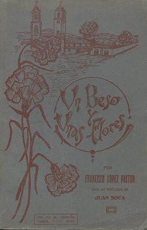 UN BESO Y UNAS FLORES. Boceto de: LÓPEZ PASTOR, Francisco