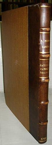CATECISMO CATÓLICO TRILINGÜE del P. Teólogo de la Compañía de Jes&...