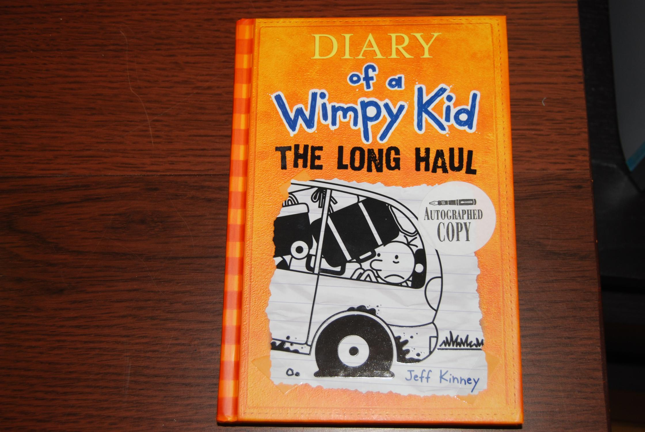 Diary Of A Wimpy Kid The Long Haul By Kinney Jeff New Hardcover 2014 1st Edition Signed By Author S Mima Mia Books