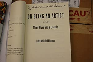 on being an artist: Judith Weinshall Liberman