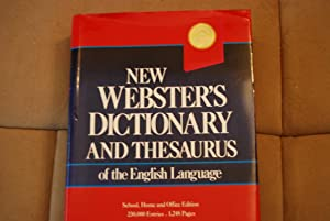 New Webster's dictionary and thesaurus of the: Inc Lexicon Publications