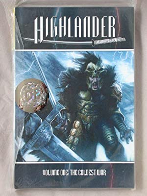 Highlander, Volume 1: The Coldest War (Kurgan cover)
