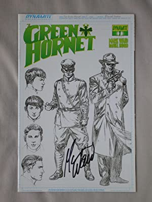 The Green Hornet, Issue #1 (Diamond Retailers: Waid, Mark