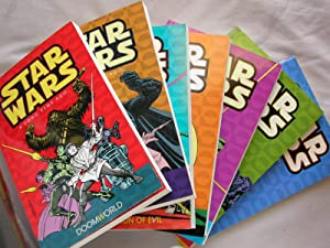 Star Wars: A Long Time Ago., 7 Volume Set (Doomworld, Dark Encounters, Resurrection of Evil, Scre...