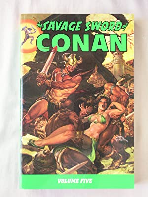 The Savage Sword of Conan, Volume 5