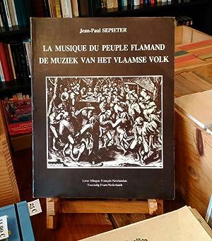 La Musique du Peuple Flamand. De Muziek van het Vlaamse Volk.: SEPIETER Jean-Paul